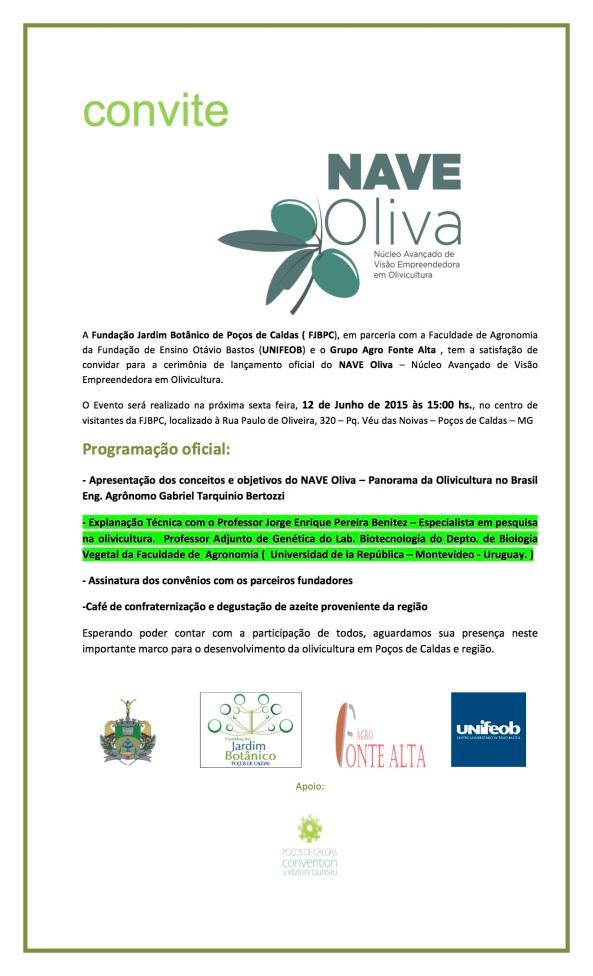 Convite Nave Oliva